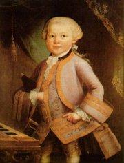 Mozart lúc 6 tuổi