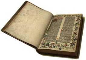 Kinh thánh do Gutenberg in