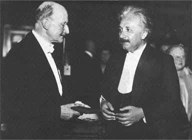 Einstein và Max Planck