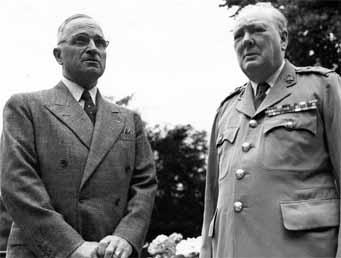 Truman và Churchill