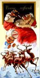 Le Père Noël de Coca Cola