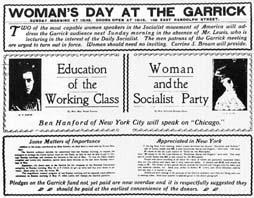 Affiche ngày 08 tháng 03 năm 1908