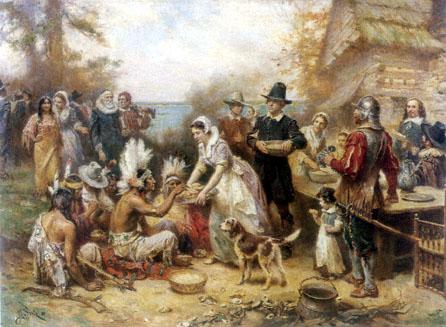 Le premier repas de Thanksgiving (novembre 1621)